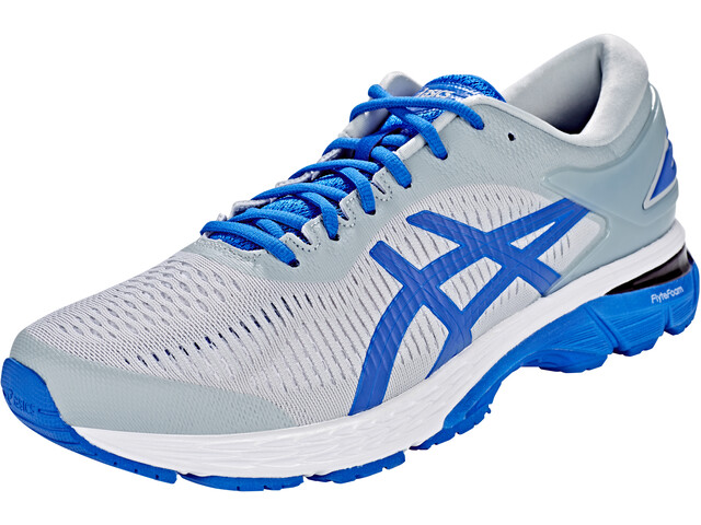 asics Gel-Kayano 25 Lite-Show Shoes Men Mid Grey/Illusion Blue